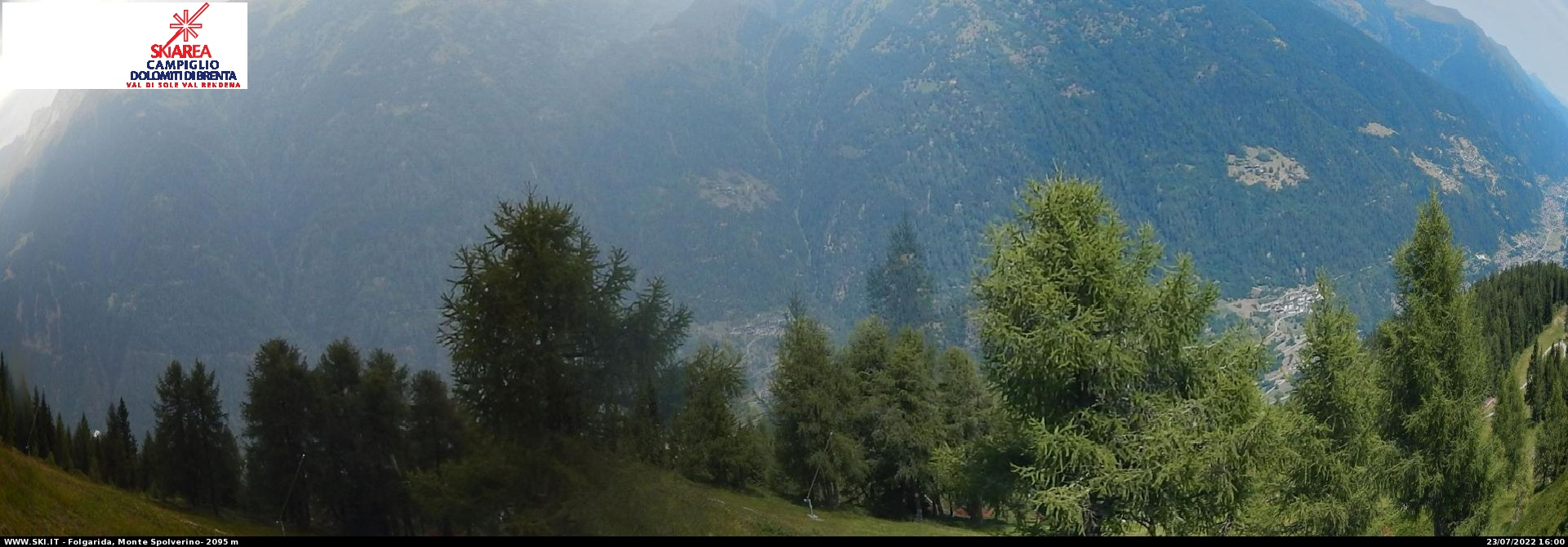 Monte Spolverino Panoramic Webcam